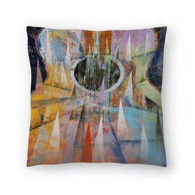 Michael Creese Mountain Guitar Throw Pillow Size: 14 x 14