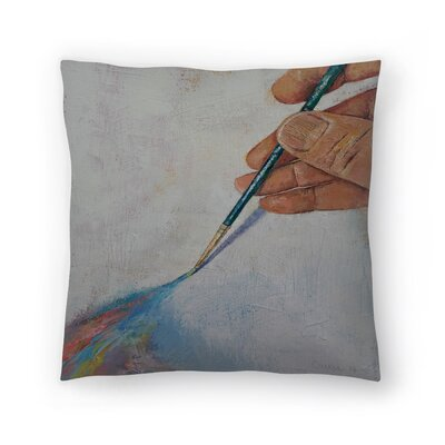 Michael Creese Painting Throw Pillow Size: 14 x 14