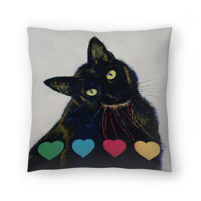 Michael Creese Pick Your Poison Throw Pillow Size: 18 x 18