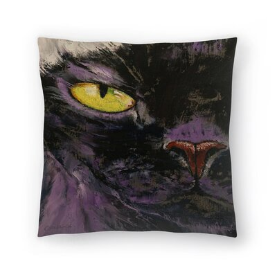 Michael Creese Sphynx Cat Throw Pillow Size: 18 x 18