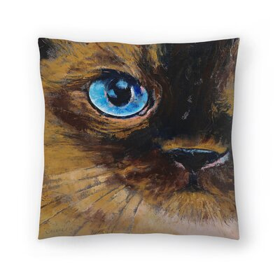 Michael Creese Tonkinese Cat Throw Pillow Size: 20 x 20