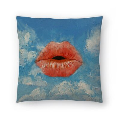 Michael Creese Kiss Throw Pillow Size: 18 x 18