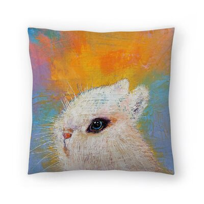 Michael Creese Rabbit Throw Pillow Size: 20 x 20