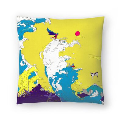 Kasi Minami Fun Fun Fun Throw Pillow Size: 16 x 16