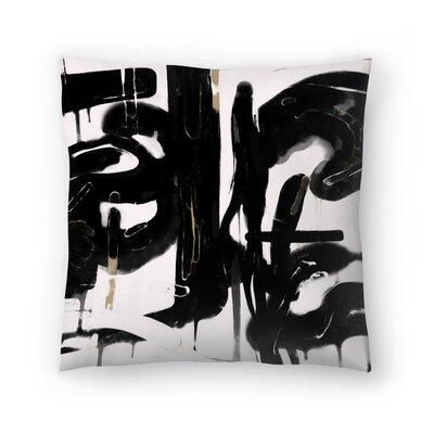 Kasi Minami Abstract 5 Throw Pillow Size: 20 x 20