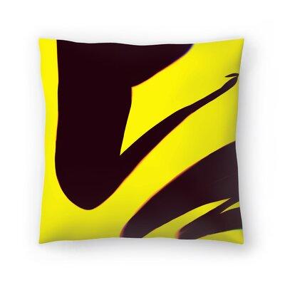 Kasi Minami Abstract Throw Pillow Size: 16 x 16