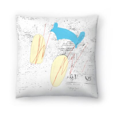 Kasi Minami Untitled 54 Throw Pillow Size: 16 x 16