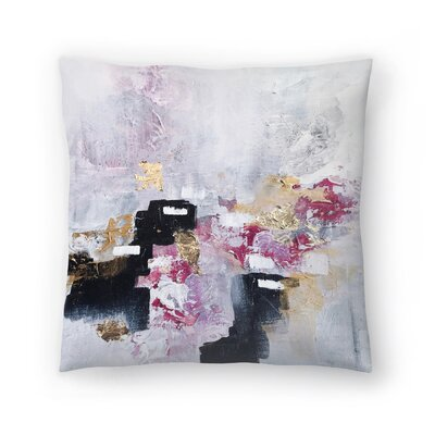 Christine Olmstead Blush Throw Pillow Size: 18 x 18
