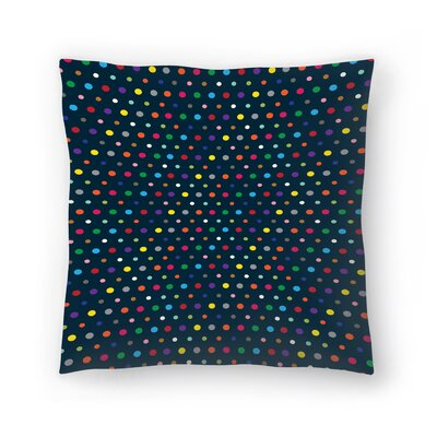 Joe Van Wetering Dots Throw Pillow Size: 18 x 18