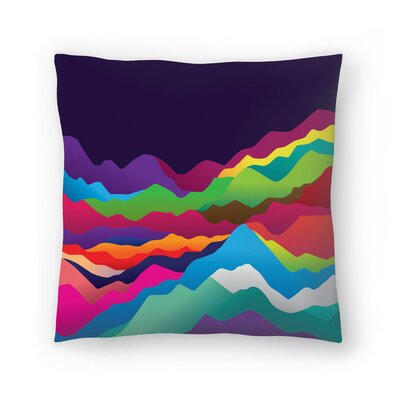 Joe Van Wetering Mountains of Sand Throw Pillow Size: 20 x 20