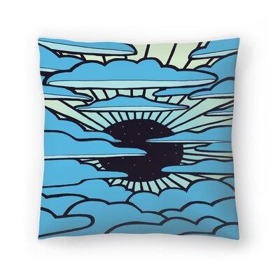 Joe Van Wetering New Sun Throw Pillow Size: 18 x 18