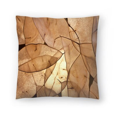 Maja Hrnjak Leaves1 Throw Pillow Size: 20 x 20