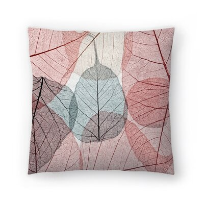 Maja Hrnjak Leaves2 Throw Pillow Size: 16 x 16