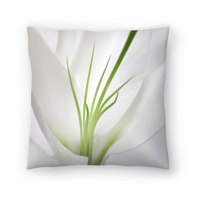Maja Hrnjak Lily2 Throw Pillow Size: 16 x 16
