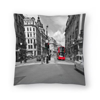 Maja Hrnjak London Throw Pillow Size: 18 x 18