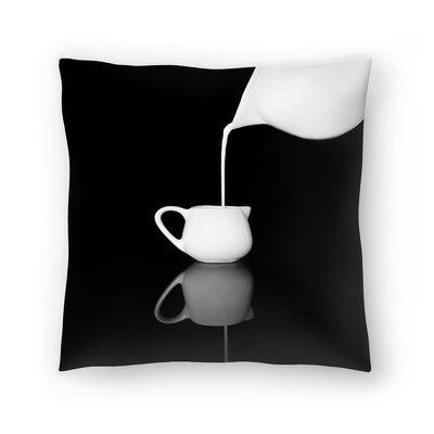 Maja Hrnjak Milk1 Throw Pillow Size: 14 x 14
