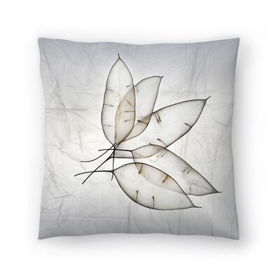 Maja Hrnjak Leaves4 Throw Pillow Size: 18 x 18