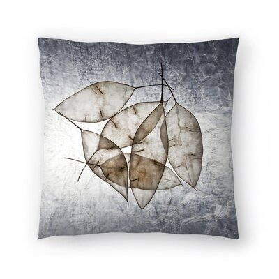 Maja Hrnjak Leaves5 Throw Pillow Size: 16 x 16