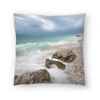 Maja Hrnjak Sea Throw Pillow Size: 18 x 18