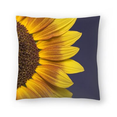 Maja Hrnjak Sunflower Throw Pillow Size: 14 x 14