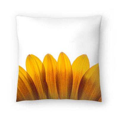 Maja Hrnjak Sunflower2 Throw Pillow Size: 16 x 16