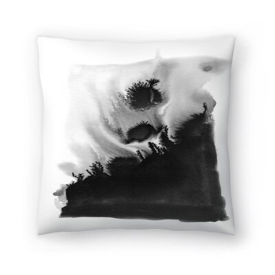 Charlotte Winter Bang Throw Pillow Size: 16 x 16