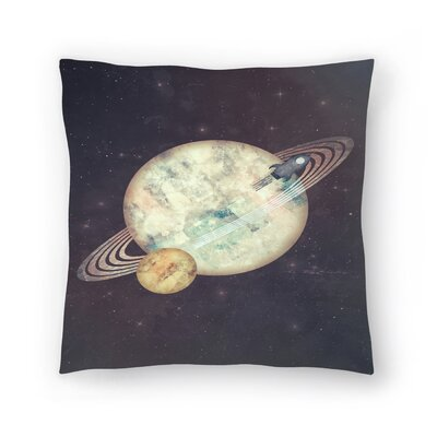 Tracie Andrews Exodus Throw Pillow Size: 18 x 18