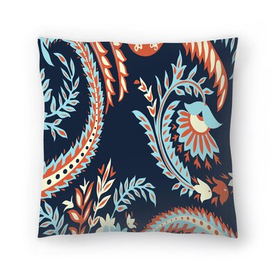 Tracie Andrews Flora Throw Pillow Size: 20 x 20