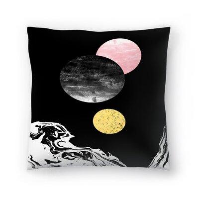 Charlotte Winter Celeste Throw Pillow Size: 14 x 14
