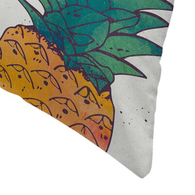 Fruity Throw Pillow Size: 16 x 16