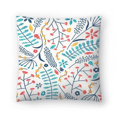 Tracie Andrews Koromiko Throw Pillow Size: 16 x 16