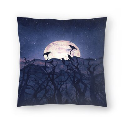Tracie Andrews Midnight Chorus Throw Pillow Size: 18 x 18