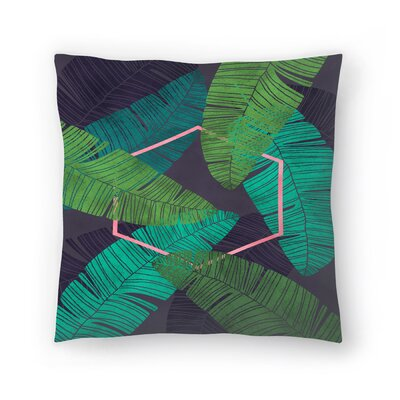 Mirage Throw Pillow Size: 18 x 18