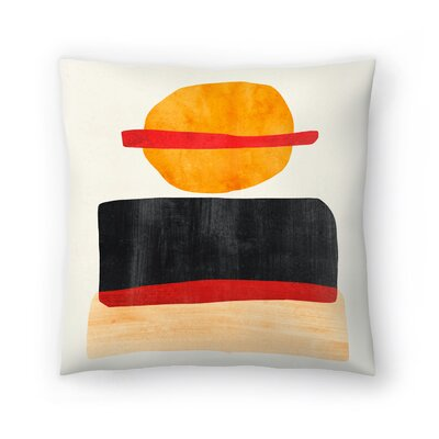 Tracie Andrews Skyline Throw Pillow Size: 16 x 16