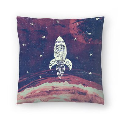 Tracie Andrews Space Adventure Throw Pillow Size: 18 x 18