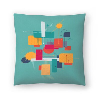 Tracie Andrews Thinking of Summer Throw Pillow Size: 20 x 20