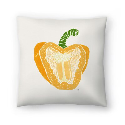 Tracie Andrews Pepper Throw Pillow Size: 14 x 14