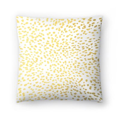 Charlotte Winter Fleck Throw Pillow Size: 18 x 18