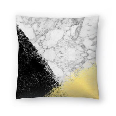 Charlotte Winter Genni Throw Pillow Size: 18 x 18