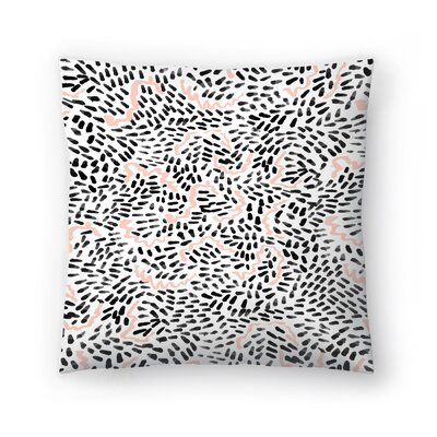 Charlotte Winter Helena Throw Pillow Size: 18 x 18