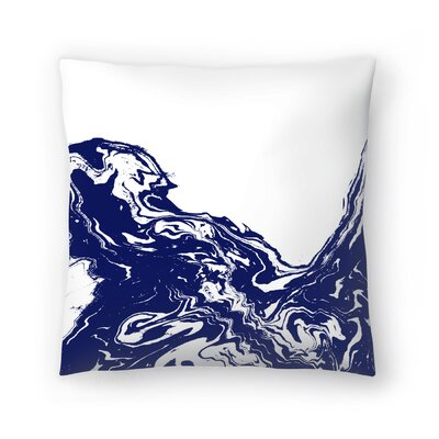 Charlotte Winter Wave Throw Pillow Size: 16 x 16