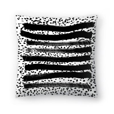 Charlotte Winter Iver Throw Pillow Size: 16 x 16