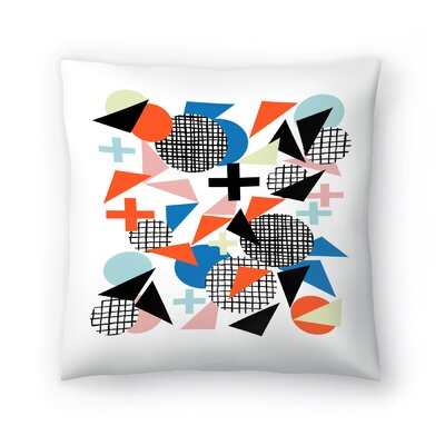 Charlotte Winter Kimbah Throw Pillow Size: 18 x 18
