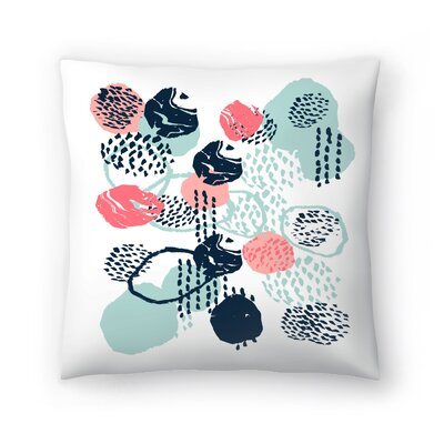 Charlotte Winter Mellie Throw Pillow Size: 20 x 20
