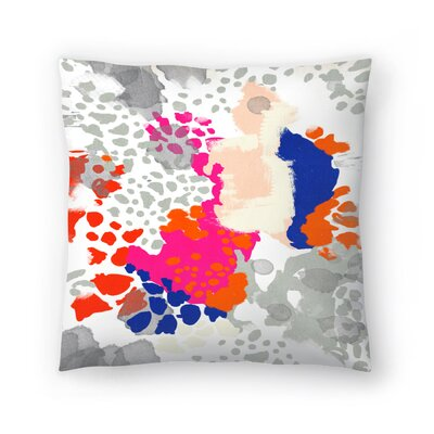 Charlotte Winter Mica Throw Pillow Size: 14 x 14