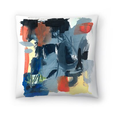 Olimpia Piccoli Through Here Throw Pillow Size: 14 x 14