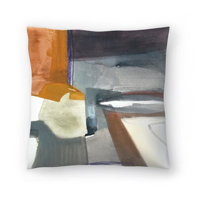 Olimpia Piccoli Traces Throw Pillow Size: 14 x 14