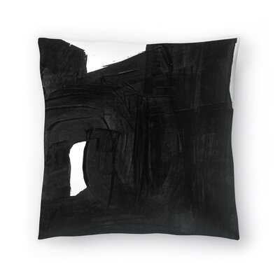 Olimpia Piccoli Without Words Ii Throw Pillow Size: 16 x 16