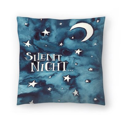 Elena ONeill Silent Night Throw Pillow Size: 16 x 16