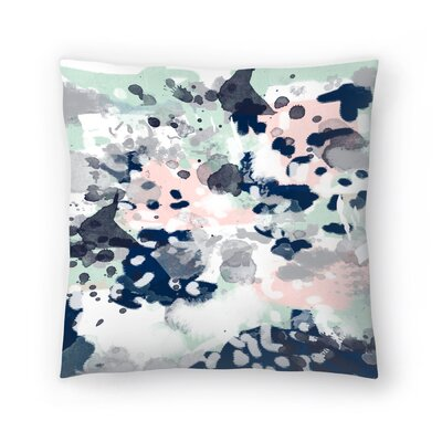 Charlotte Winter Tate Throw Pillow Size: 18 x 18